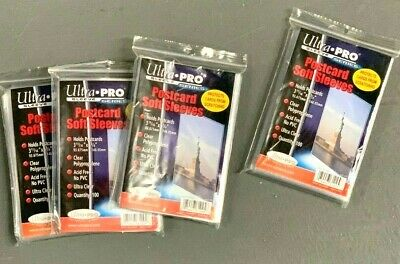 Ultra Pro Resealable Team Set Bags Trading Card Storage 1000 / 10 Packs Lot