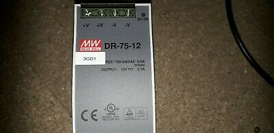 Power Supply MW DR-75-12