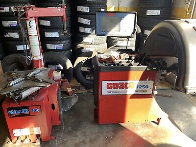 Vehicle Tyre Changers & Wheel Balancers Snap On WB250 & WB260A ...