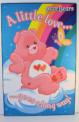 2005 CARE BEARS CHART GRID POSTER NEW 22x34 FREE FAST SHIPPING