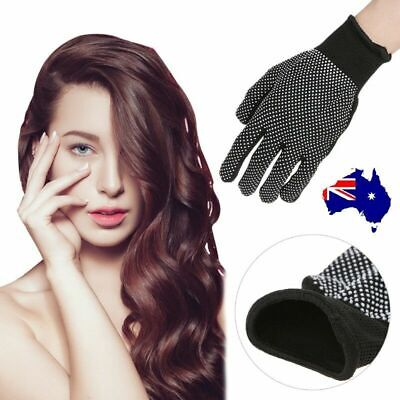 Hair Straightener Perm Curling Hairdressing Heat Resistant Protect Finger Glove