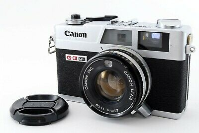 CANON Canonet QL19 GIII Rangefinder Film Camera [AS-IS, Shutter work]FROM JAPAN