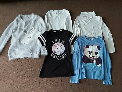 Girls Clothes Bundle Inc Unicorn Jumper Gap Long Sleeved T Shirt 8-9 Years