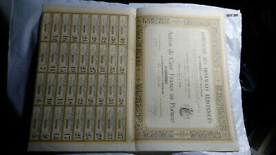 France: Pair Of Large Bond Certificates, 1896 & 1899
