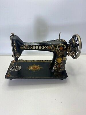 Vintage Singer Sewing Machine Treadle G300227 HEAD ONLY Parts Or Repair .