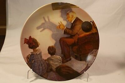 """Norman Rockwell Collector Plate """"Spring Flowers"""" Limited Edition /& Numbered 1979"""