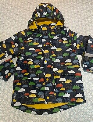 Frugi waterproof rain cloud coat girls boys unisex 6 - 7yrs 6-7 years Ex Cond