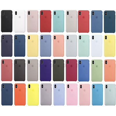 Funda de Silicona Ultra Suave para iPhone 6 6S 7 8 11 Pro Plus X XS XR MAX Apple