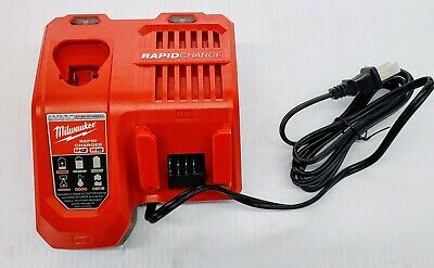 New for Milwaukee M12 M18 CHARGER 48-59-1808 Lithium 12 18 Volt