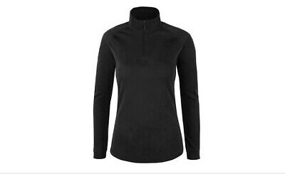 Mountain Warehouse Snow Thermal Base Layer Womens Long Sleeve Zip Neck Top (7A15