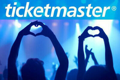 Ticketmaster GIFT CARD $ 50 USD   Worldwide   Fast Free Delivery