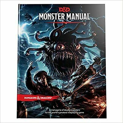 Dungeons & Dragons 5th Edition Monster Manual (DIGITAL DELIVERY)