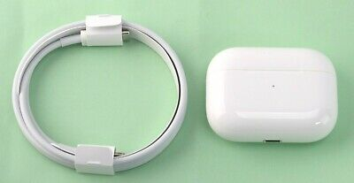 GENUINE Apple AirPods Pro ONLY Wireless Charging Case A2190 & USB Cable White