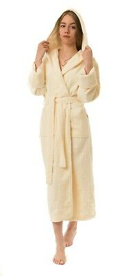 Nusa Bamboo Cotton  Bathrobes Best Gift for Women Comfortable Breathable