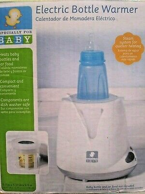 Especially for Baby electric steam bottle warmer heats bottles and jar food
