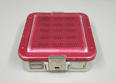 Aesculap DBP Sterilization Container with Surgical Instruments Basket and Mat