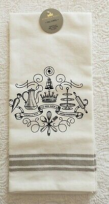 """Official Downton Abbey Tea Towel """"Seems A Pity To Miss Such A Good Pudding"""""""