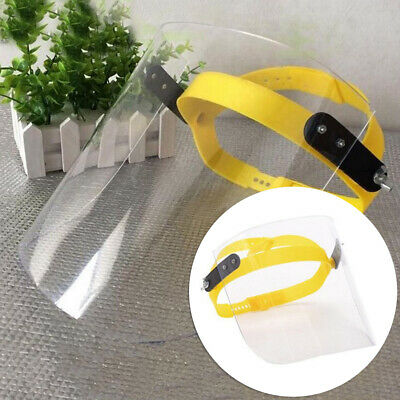 Full-Face Eyes Shield Guard Safety Clear Glasses Protector Cover Anti-Splash