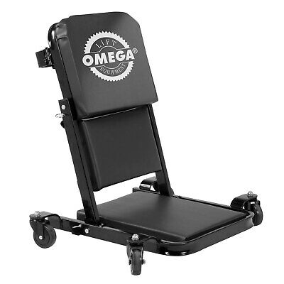 Omega 91452 450-Pound Low-Profile Z Creeper and Seat Black