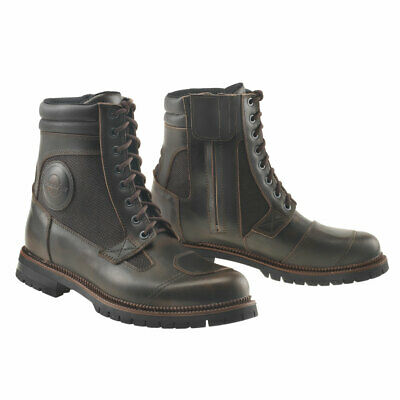 Gaerne G Warrior Cafe Racer Style Motorcycle Boots