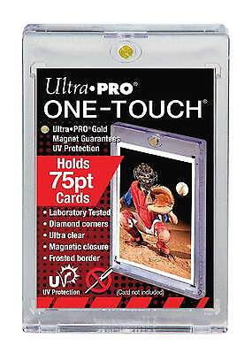5 Ultra Pro One Touch 75 PT.Magnetic Thick Card Storage Holders 81910-uv