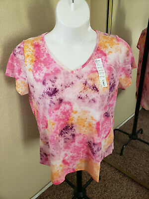 SONOMA Goods For Life NWT Size XL Multicolored V Neck Tee