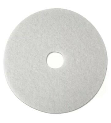 "11"" Super Polish Pads Buffer Pads in White - 20x Pads"
