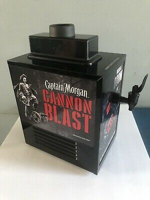Captain Morgan Cannon Blast Rum Refrigerated Dispenser Bottle Chiller Game Room