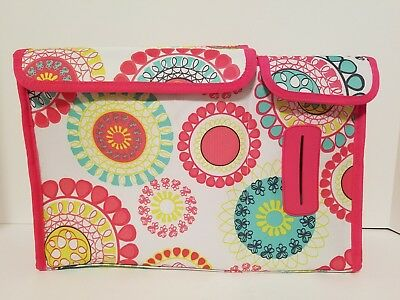 Thirty One Pack N Pull Caddy Citrus Mediallion Great for Diapers Wipes Retired