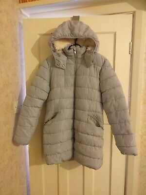 Girls Next Light Blue Padded Jacket Coat Age 16 Years