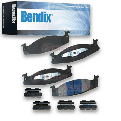 Bendix SBM440 Stop By Bendix Semi Metallic Brake Pads Pair Left Right Pad th