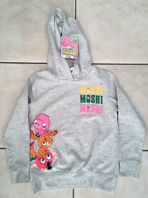 Official Moshi Monsters Hoodie Age 6-7yrs (116-122cm) BNWT