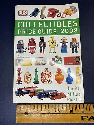 Collectibles Price Guide 2008 Judith Miller Ebay Antique Vtg Item Book Seller
