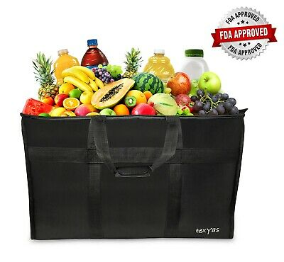 Extra Large Insulated Thermal Food Delivery Bag   Ideal for Groceries