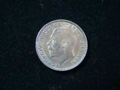 Great Britain 1915 Silver 6 Pence Uncirculated KM#815 Nice!!