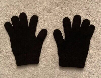 Outbrook Womens Black Knitted Gloves One Size Ladies
