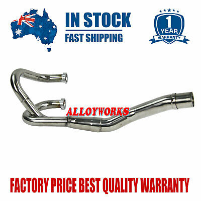 ALLOYWORKS Stainless Exhaust Head Pipe for Honda TRX450 TRX450R 2006-2013