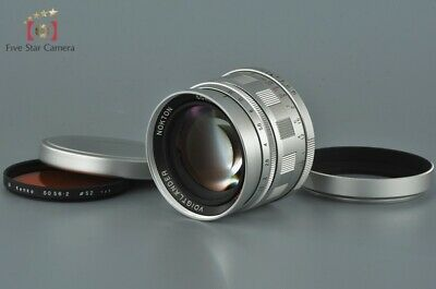 Voigtlander NOKTON 50mm f/1.5 Aspherical Silver L39 LTM Leica Thread Mount