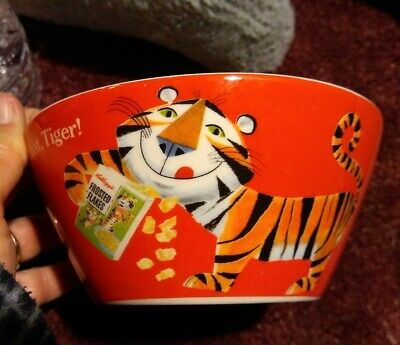 Vintage Kellogg's Tony The Tiger Cereal Bowl: 2006 Hold That Tiger  Ceramic 6""