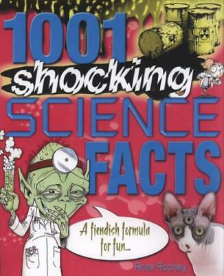 1001 shocking science facts by Anne Rooney (Paperback / softback) Amazing Value