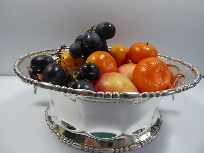Solid Silver Fruit Bowl