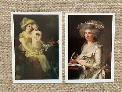 The National Museum of Women in the Arts 2 Postcards Unposted
