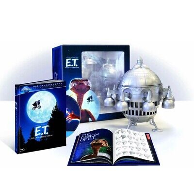 E.T. The Extra-Terrestrial - Limited Edition Spaceship with Digibook BLU RAY