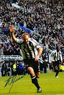 Alan Shearer Signed 12X8 Photo Newcastle United F.C. Genuine AFTAL COA (E)