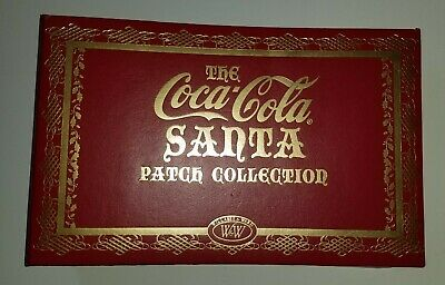 2005 Coca-Cola Santa Patch Collection 7 ReproPatches In Binder Willabee & Ward