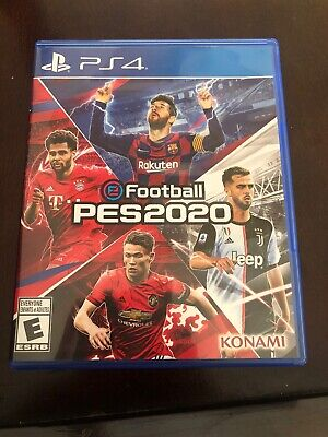 Pro Evolution Soccer PES 2020 PS4 Brand New Sealed PlayStation eFootball