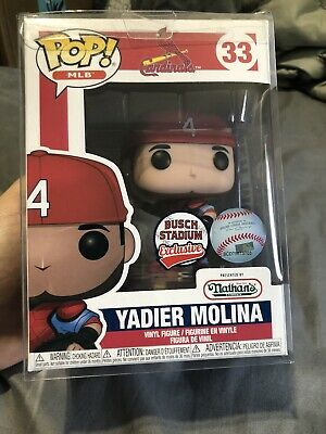 """Louis Cardinals Yadier Molina /""""Funko Pop Exclusive In Hand Now. St"""