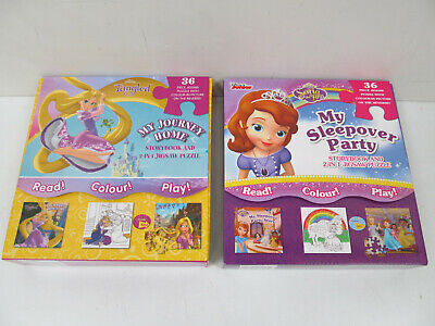 2x Electric module with self Interactive Quiz 100 Disney Frozen Sofia the first