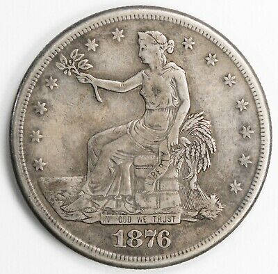 1876-S San Francisco Trade Silver Dollar