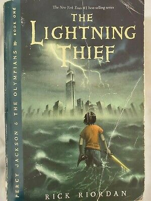 The Lightning Thief Rick Riordan #1 NY Times Best-selling Series ACCEPTABLE